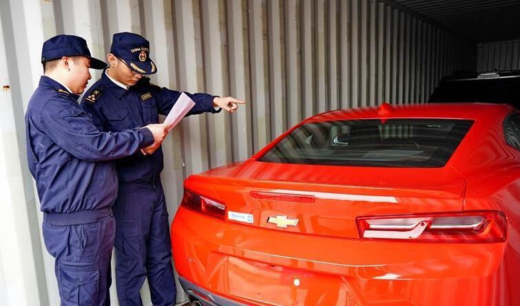 买进口车更便宜了!河北省首批平行进口汽车到港
