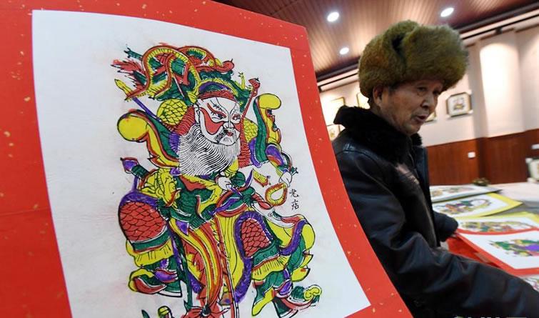 朱仙镇木版年画迎新年