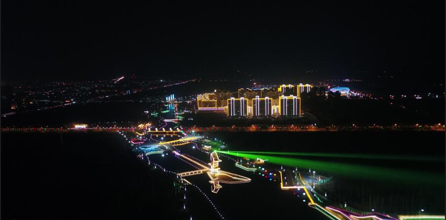 枣强县北湖公园建成开放 增添健身休闲好去处