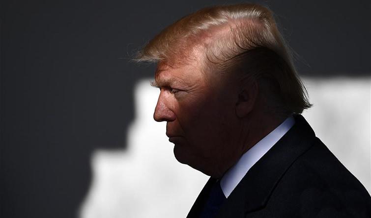 特朗普就任美国总统一周年 交出怎样的成绩单?