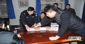 沧州多方协调讨要工资 农民工含泪谢民警
