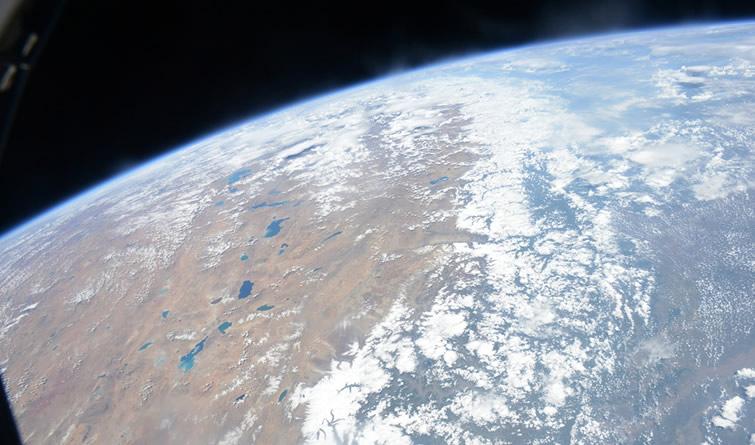 航天员太空摄影作品
