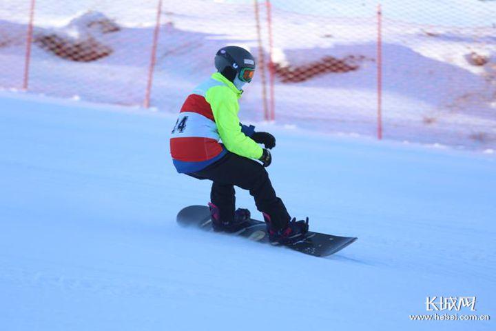 河北省第九届残疾人运动会高山滑雪和单板滑雪赛