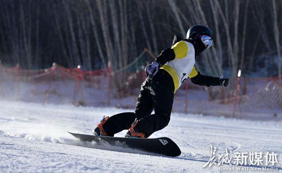 河北省第十五届运动会群体组滑雪比赛