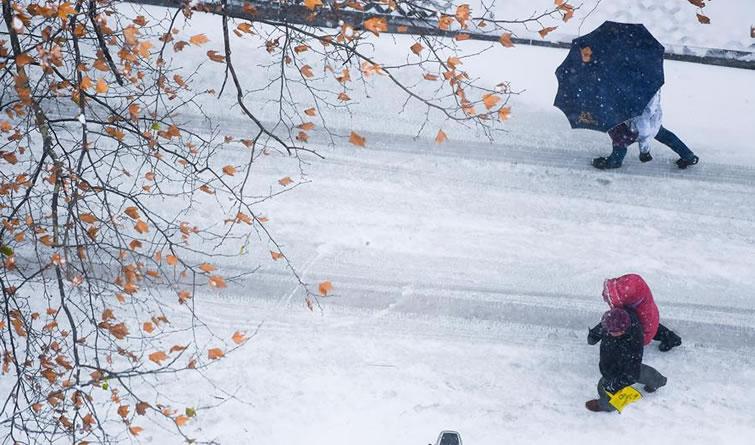 多地出现降雪天气 来赏各地雪景!