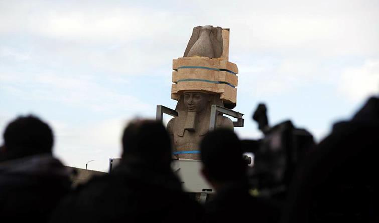古埃及巨型雕像暌违12年后重新展出