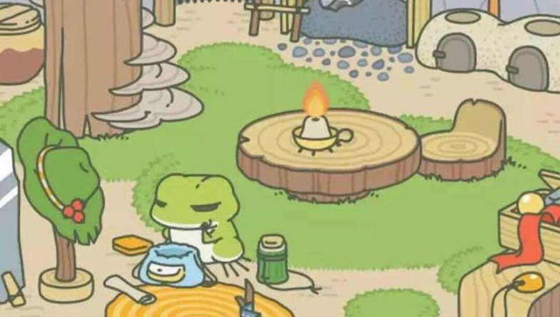 """在""""旅行青蛙""""中看到那个孤独的影子"""