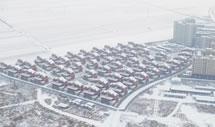 雄安新区2018年首场降雪