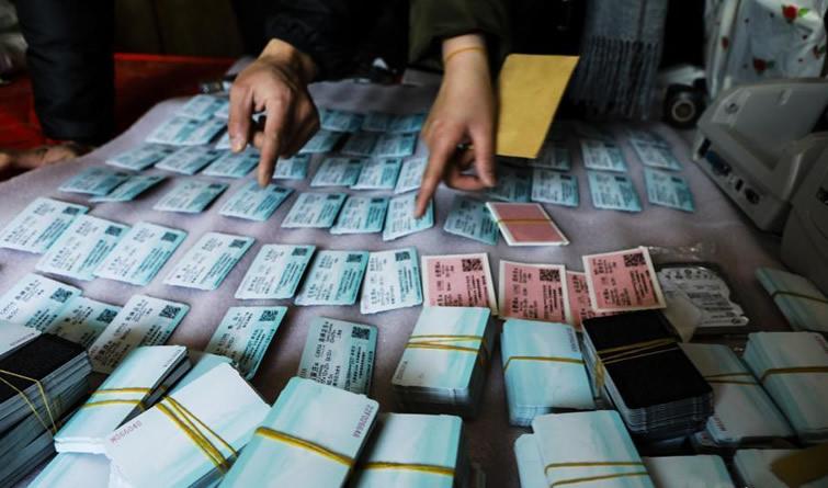 警方破获特大制贩假火车票案 查获假车票1.6万余张!