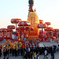 2018唐山南湖春节灯会2月2日盛装开幕
