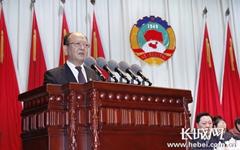 张家口市政协十二届二次会议开幕