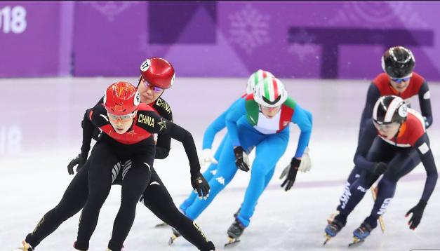 冬奥会女子短道3000米接力预赛 中国队破奥运纪录顺利晋级