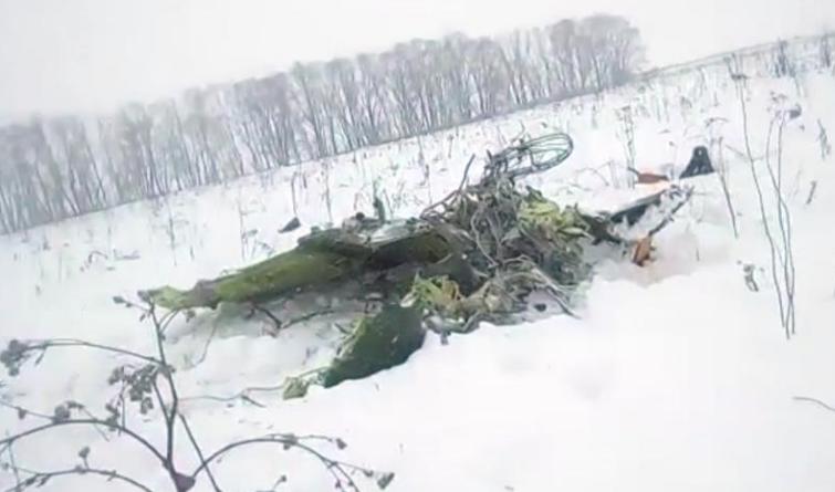 俄罗斯:一架民航客机在莫斯科州坠毁(组图)
