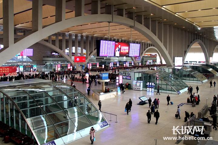 截至目前 河北春运期间完成综合运输客运量9585.23万人次