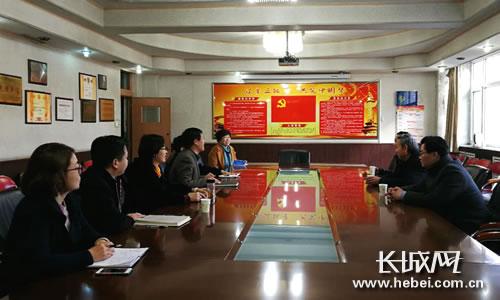 石家庄市委教育工委副书记苏志远到市城建学校