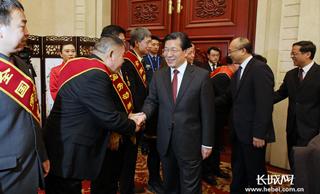 河北省委省政府举行春节团拜会