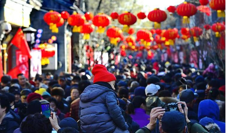 春节庙会年味浓