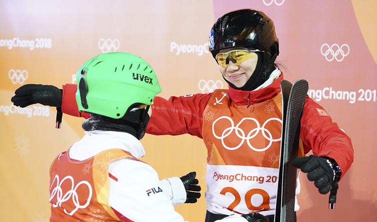 冬奥会丨自由式滑雪空中技巧:中国选手获银、铜牌