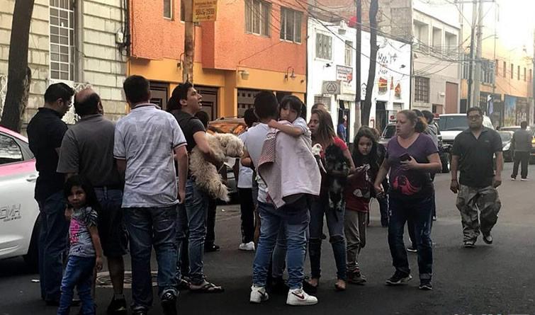 墨西哥发生地震