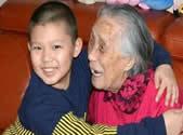 98岁老人的幸福生活