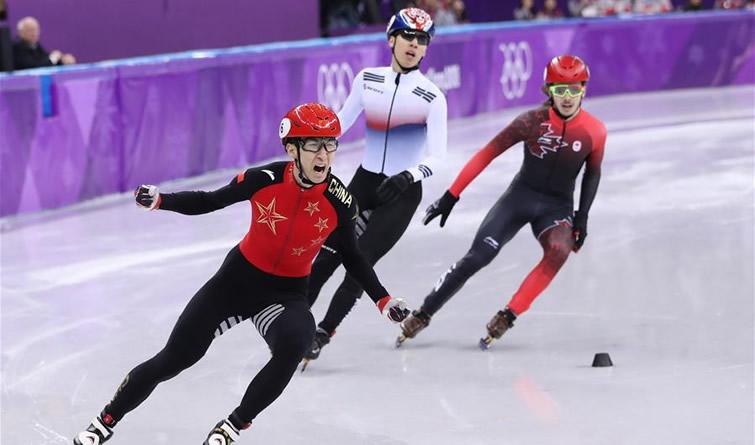 冬奥会丨短道速滑——男子500米:武大靖破世界纪录夺冠