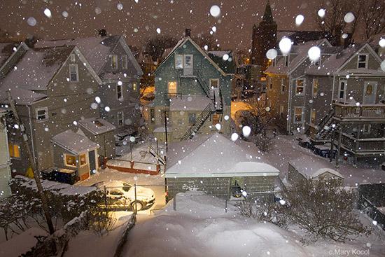 50张照片探冬日究竟 摄影的创造力无视寒冷