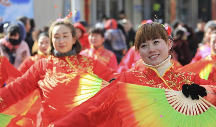 崇礼:秧歌闹新春
