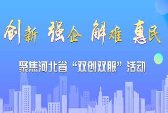 """【专题】聚焦河北省""""双创双服""""活动"""