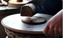 土法沙锅制作手艺