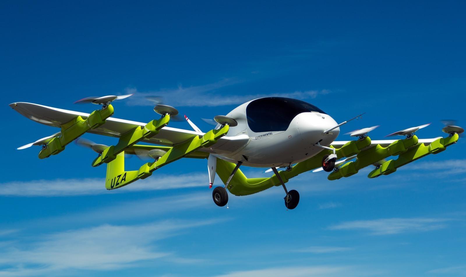 """""""飞行出租车""""在新西兰试飞"""