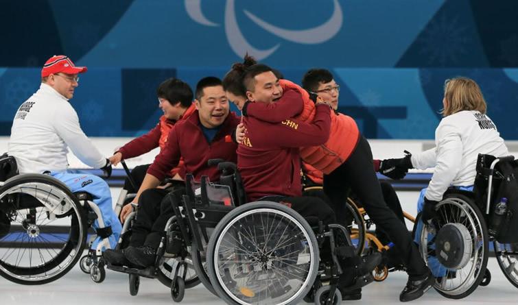 零的突破!中国代表团夺冬残奥会历史首金