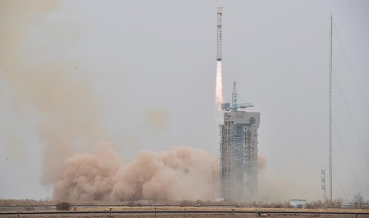 我国成功发射陆地勘查卫星四号
