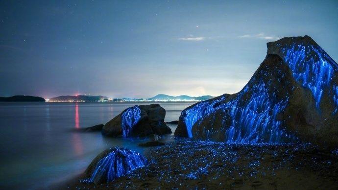 """日本最美的海湾 这里的石头会""""哭"""""""