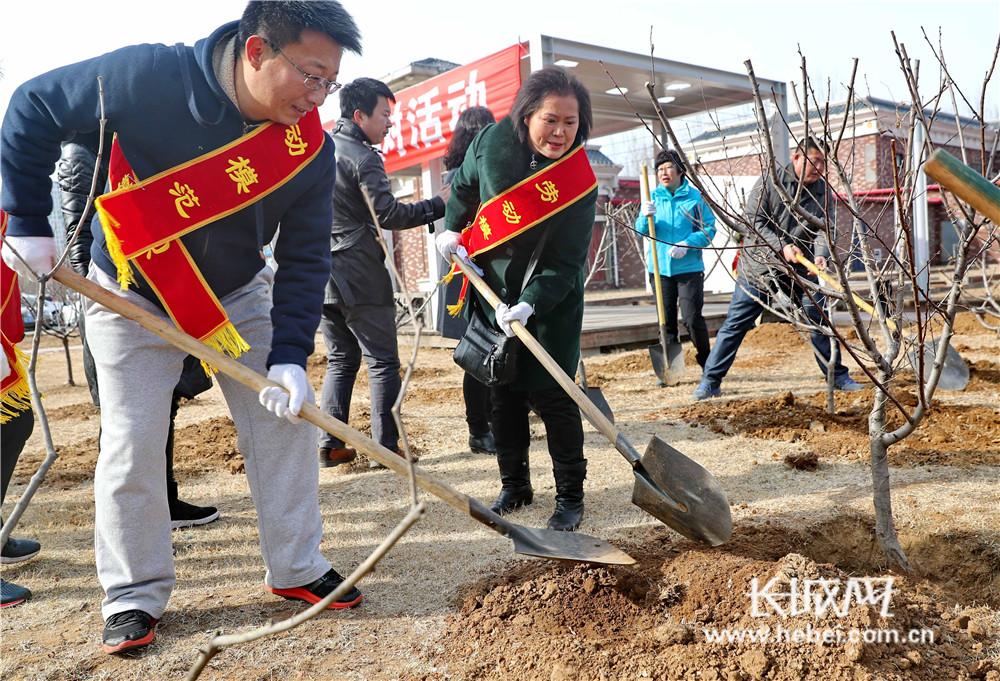 秦皇岛:创建森林城 劳模在行动