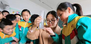 保护水资源从自身做起 固安节水宣传进校园