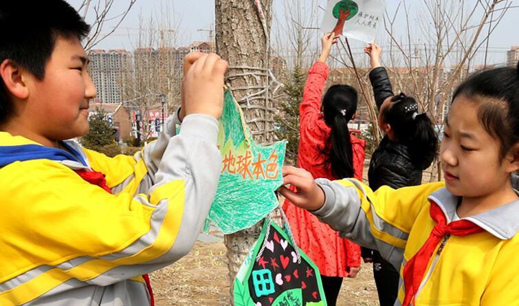 大厂:植树护绿在行动