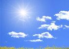 今日气温继续回升,最高气温将突破20℃