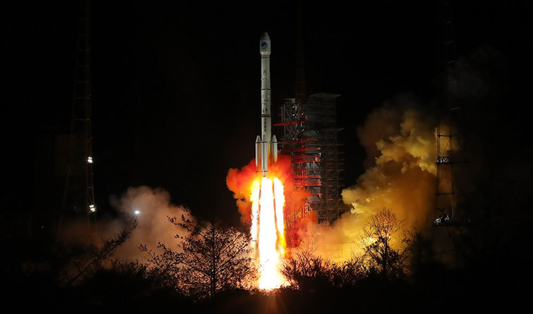 一箭双星!我国再次成功发射两颗北斗三号卫星 将与此前6颗组网运行