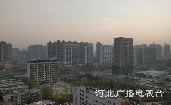 暖春回归阳光好 石家庄最高气温24℃