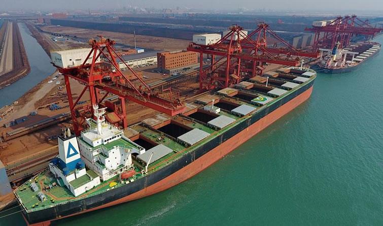 唐山港第一季度货物吞吐量同比增长4.76%