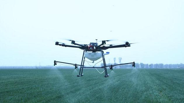 植保无人机助力春季麦田管理