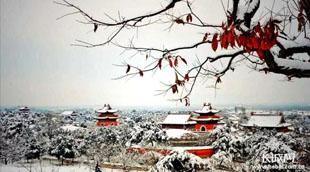 春雪中的清东陵,美翻了!