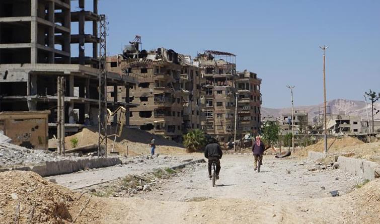 漩涡中心 探访叙利亚杜马镇