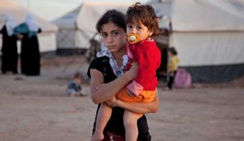 叙利亚难民儿童生活艰辛