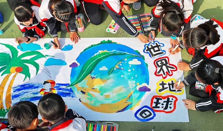 迎世界地球日丨爱护地球 从我做起
