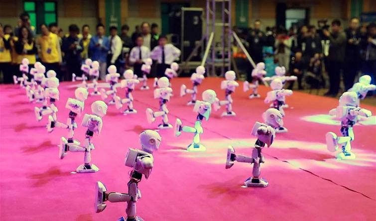2018年河北省青少年机器人竞赛开幕
