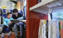 """沧州:""""流动图书馆""""进社区"""