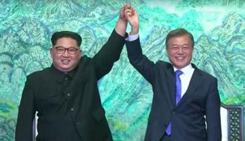 """韩朝""""互动"""" 落实《板门店宣言》"""