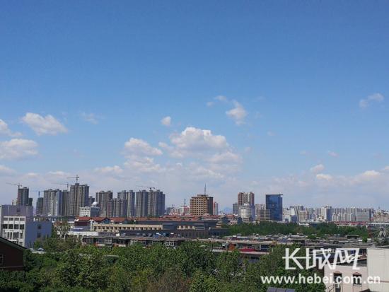 保定市第一季度空气质量改善幅度全省最大