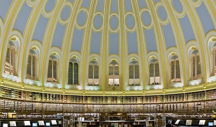 """大英博物馆的马克思""""自习室"""""""